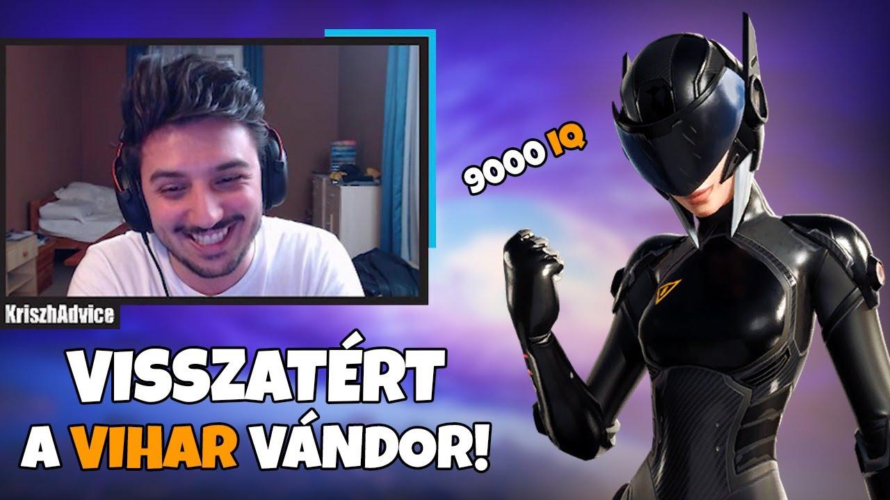 VISSZATÉRT A VIHAR VÁNDOR!!! | 9000 IQ PLAY AZ FNCS-EN (Fortnite Battle Royale)