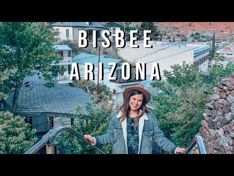 WE COULD LIVE HERE BISBEE, AZ   Bus Life   Skoolie Travel Vlog