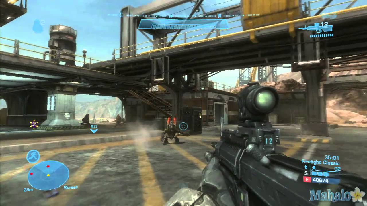Halo Reach Defiant Map Pack Unearthed Firefight Classic tehstupid's First  Attempt Part 05