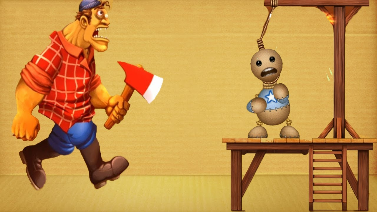 Horror Mad Jack vs Machines Gallows   Kick The Buddy 2020