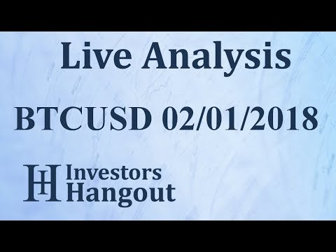 BTCUSD Stock Live Analysis 02-01-2018