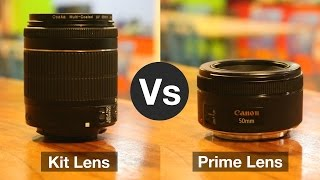 Kit Lens vs Prime Lens: Which One To Use and When?