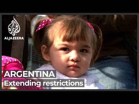 Download Protesters in Argentina demand vaccines and jobs