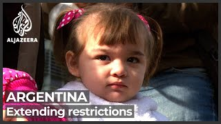 Protesters in Argentina demand vaccines and jobs