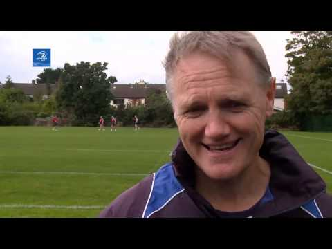 LTV: Leinster Pitchside Briefing Joe Schmidt Interview
