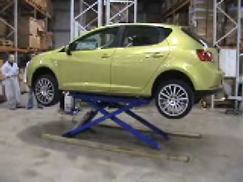 Compressed Air Car >> Mobile Car Lift - YouTube