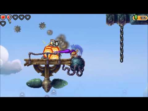 Shantae and the Pirate's Curse - Chapter 5 - Abandoned Factory - Steel Maggot