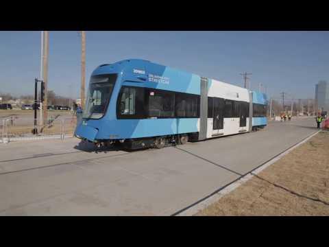 Clear Sky Streetcar Arrives in OKC