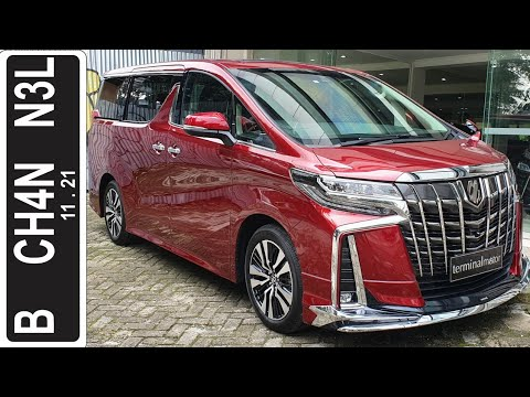 In Depth Tour Toyota Alphard Modellista [AH30] Facelift - Indonesia