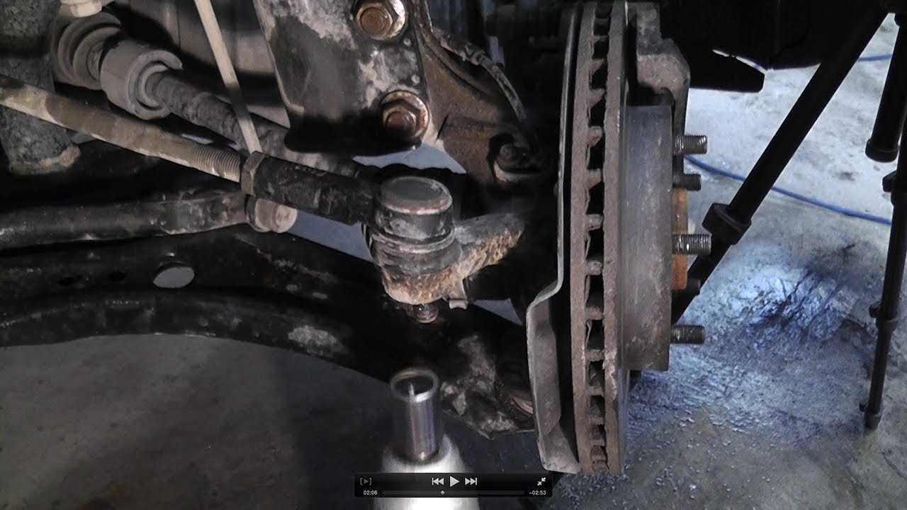 Suzuki SX4 Bad Tie Rod End Replacement - YouTube