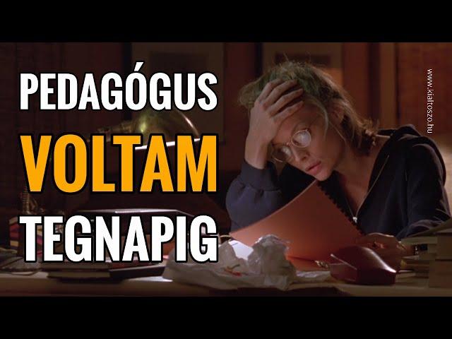 PEDAGÓGUS VOLTAM TEGNAPIG - vallomás (téli emlék)