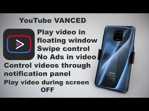 XIAOMI REDMI NOTE 9S / PRO - YOUTUBE VANCED - STEP BY STEP
