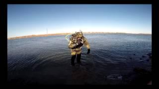 Зимняя рыбалка 2017. Река Бузан.