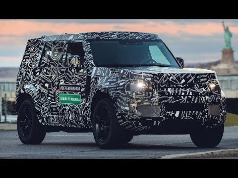 New Land Rover Defender due in 2020: new spy shots and details | k production channel