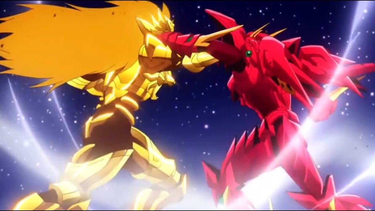 Issei Vs Sairaorg [Full Fight] - Crimson Dragon Vs Golden Lion [AMV] - HighSchool DxD Hero - YouTube