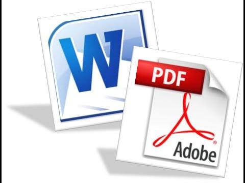 تحويل من word الى pdf بدون برنامج