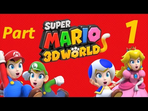 Peach Plays Super Mario 3D World: Part 1 - Hoonanigans