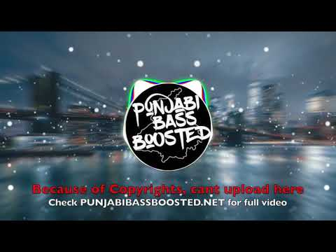 Challenge [BASS BOOSTED] Ninja | Byg Byrd | Sidhu Moosewala | Sunny Malton | PUNJABI BASS BOOSTED