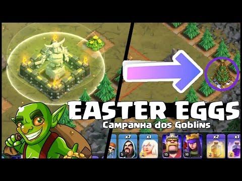 10 EASTER EGGS | Clash Of Clans | Campanha dos Goblins