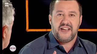 MATTEO SALVINI OSPITE A NEMO (RAI 2, 16.11.2018)