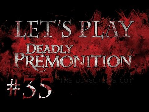 Let's Play Deadly Premonition (part 35 - Fishing For Documents [blind])