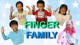 Finger Family Song | Nora and Family