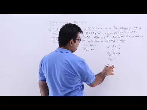 Dimensionless Numbers Problem Example 1