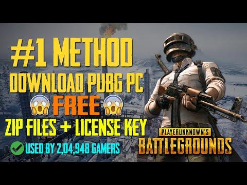 PubG PC Download Free - Zip Files + License Keys