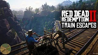 Red Dead Redemption 2 - NEW RDR2 DETAILS! Train Escapes, Theater Performances & MAP SIZE INFO (RDR2)