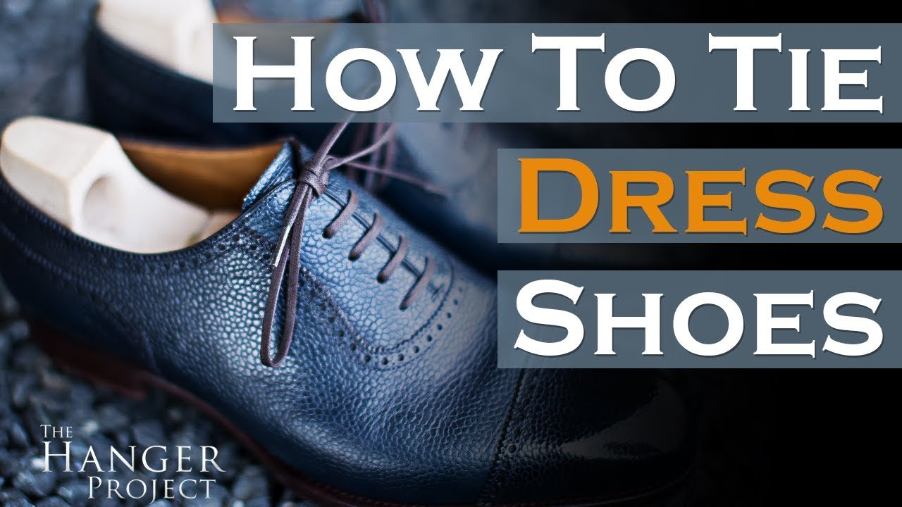How To Tie Dress Shoes Parisian Knot Method Youtube A Double Windsor Diagram Pictures 3