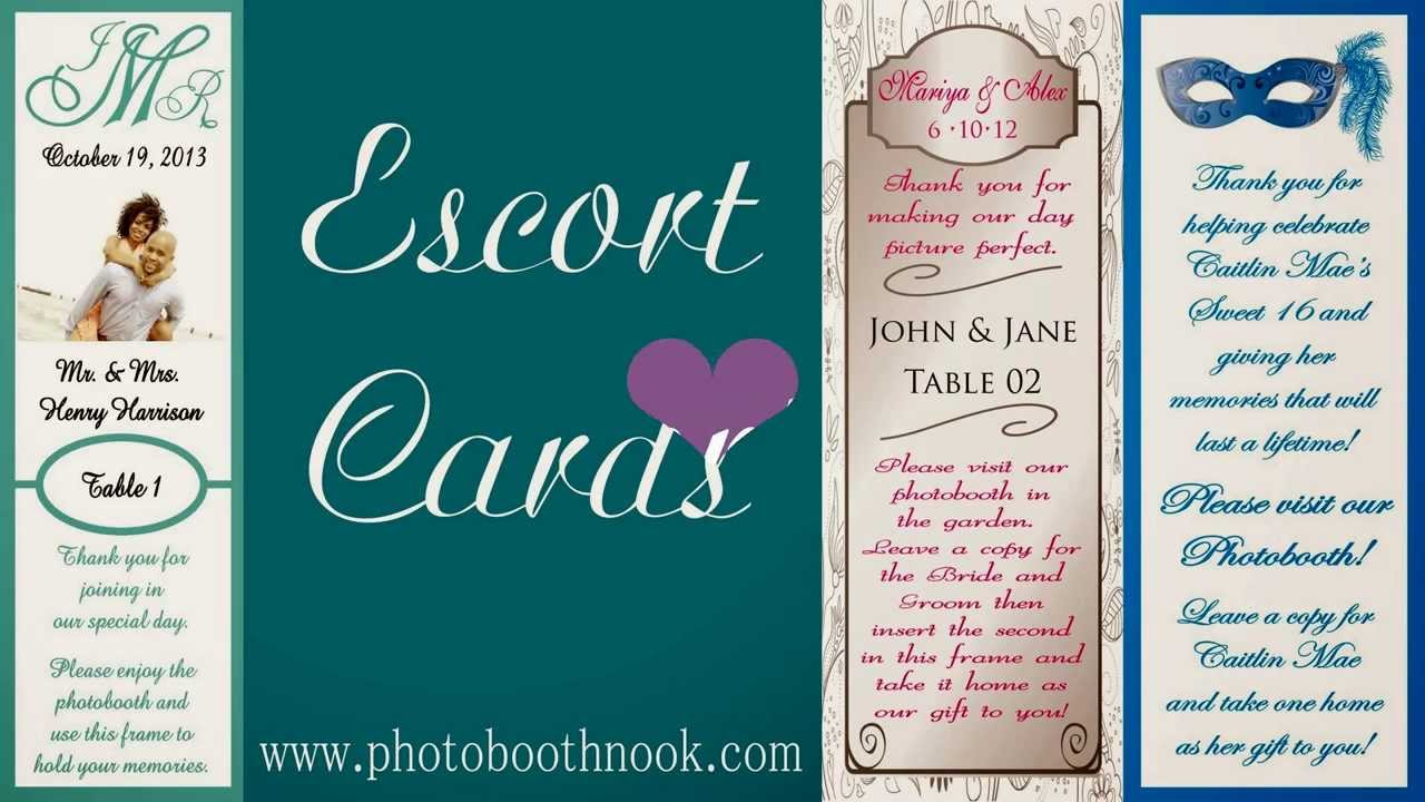 Photo Booth Nook   Frames, Bookmark Sleeves, Inserts, Props Escort ...