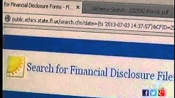 Financial disclosure forms of FL elected officials