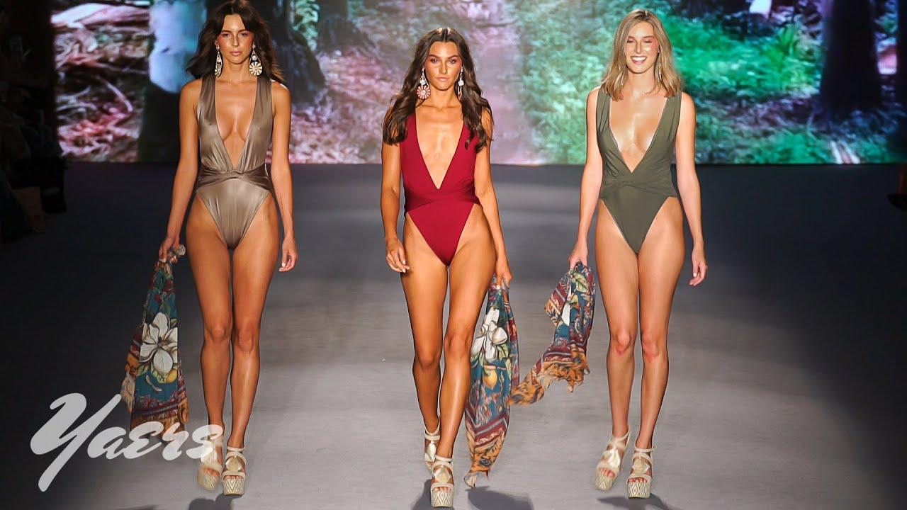 Agua Bendita Swimwear SS2020 Fashion Show Miami Swim Week 2019 Paraiso  Miami Beach