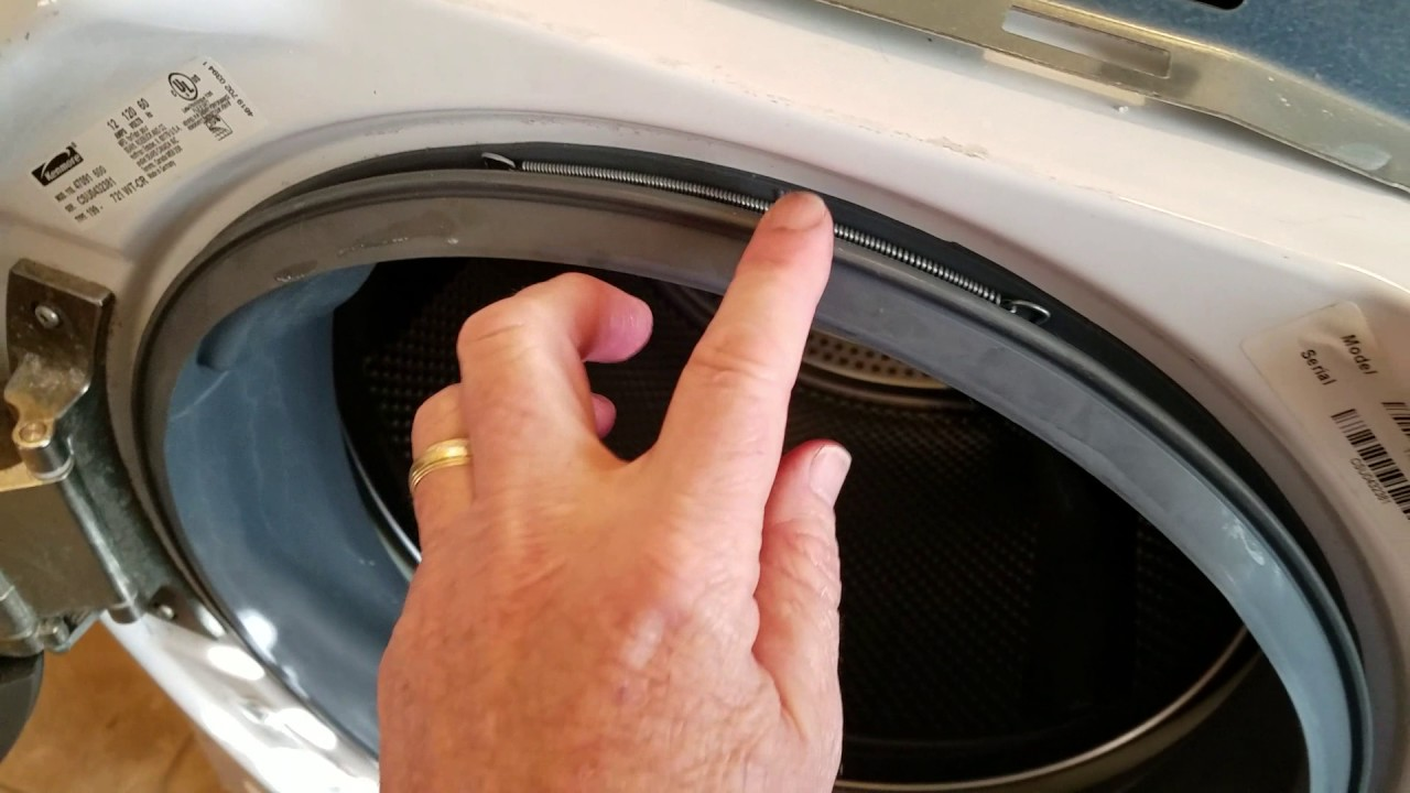 How To Fix A Door Boot Seal On A Kenmore He5t Washing