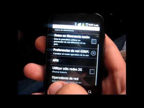 Recuperar 3G en cualquier Android