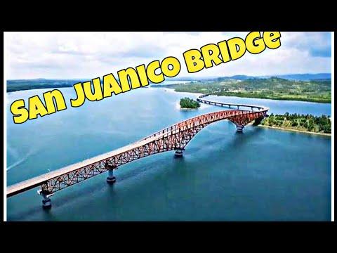 San Juanico Bridge in Leyte/Samar Philippines
