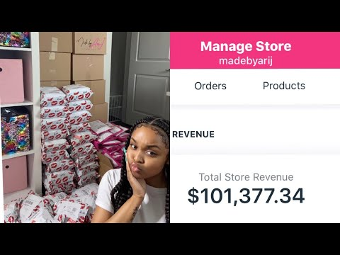 HOW I MADE $100,000 SELLING COSMETICS at 21!! |Ari J.