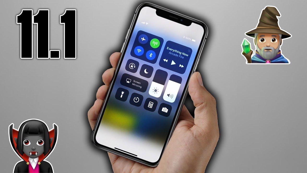 iOS 11 1 - Nuevos Emojis y más!