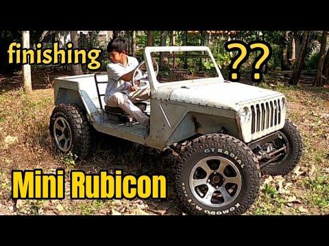 Download Mini Rubicon Homemade // Part 2 finishing 1000cc // mini Jeep Rimbono Homestay
