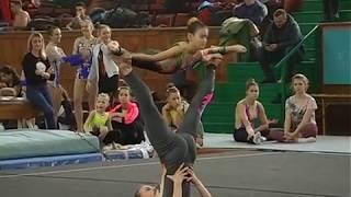 Акробатика 17.11.2018 г. Донецк женская пара