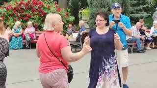 Ворожка Танцы 🕺🕺🕺 в парке Горького Июнь 2021 Харьков