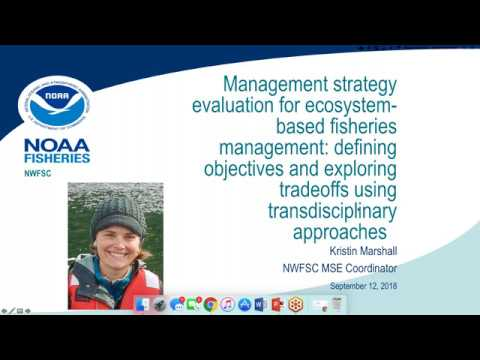 Management Strategy Evaluation For Ecosystem-based Fisheries Management