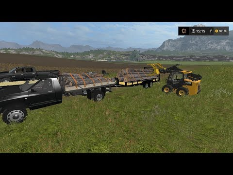 Clearing trees | Lawn Care | Farming Simulator 2017 | Episode 9