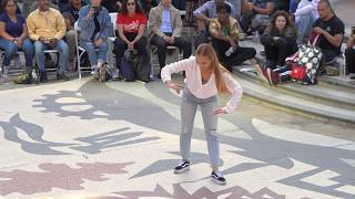 Dassy Lee Judge demo at YAK to the Bay 2018 OAKLAND