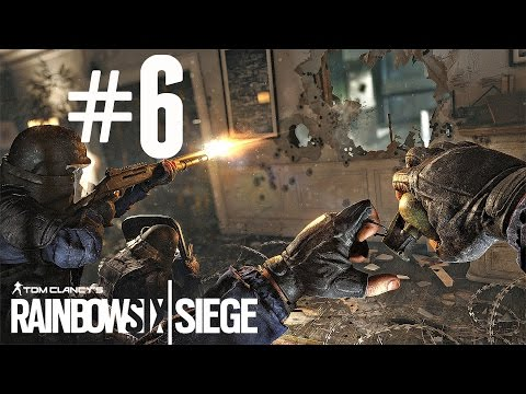 Let's Play Rainbow Six Siege Ranked [#6] - SILVER II! (Ps4/Xbox One Gameplay HD)