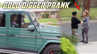 GOLD DIGGING P.R.A.N.K USING MY NEW G WAGON! (She was down for whatever👀)