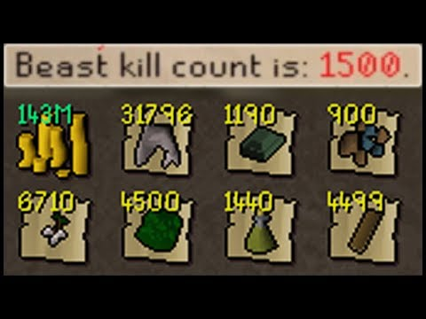 1500 Corp Beast Killed.. | Ultimate Ironman Progress RuneScape