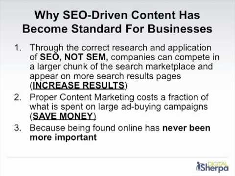 Understanding Content Marketing: Advanced Content Strategy
