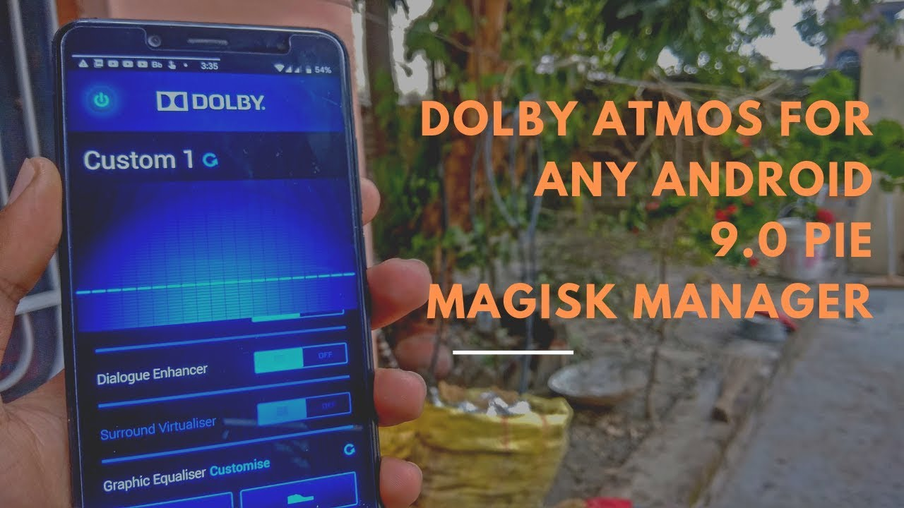 How To Install Dolby Atmos For Android Pie | Installation