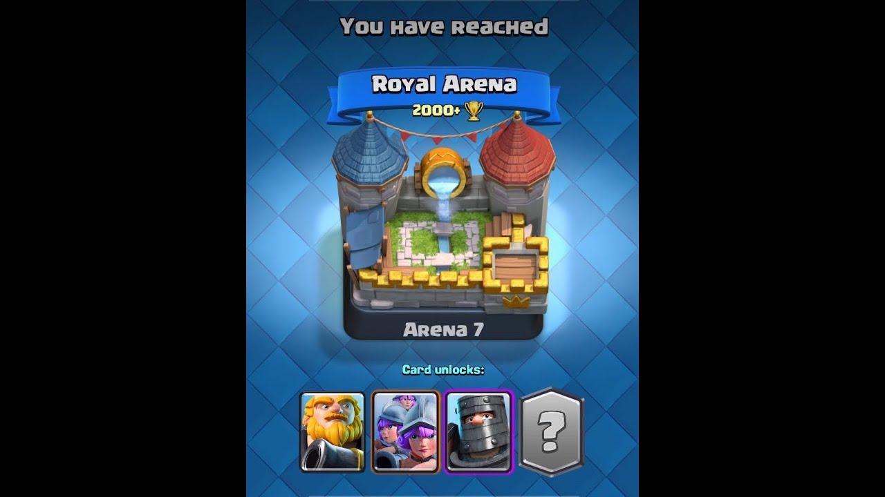 Clash royale level 8 arena 7 battles great deck for for Clash royal deck arene 7